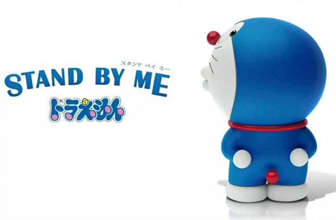 《哆啦a梦:新·大雄的日本诞生》电影预热海报,蓝胖子